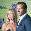 Jai Courtney and Mecki Dent at 'Suicide Squad' Premiere in New York 08/01/2016