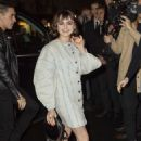 Maisie Williams – Arrives at Givenchy Womenswear Show in Paris