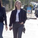 Chloe Moretz in Jeans – Out with a friend in LA - 454 x 711