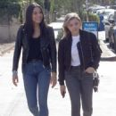Chloe Moretz in Jeans – Out with a friend in LA - 454 x 625