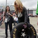 Jessica Simpson - Lowe's Motor Speedway In Concord, North Carolina - October 10 2008