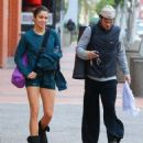 Nikki Reed & Ian Somerhalder leaving yoga class December 30, 2014 in Studio City, Calif