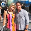 Scottie Upshall and Melanie Collins