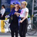 Kristen Stewart with friend out in New York City - 454 x 588