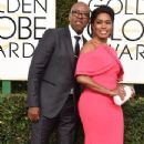 Courtney B. Vance and Angela Bassett At The 74th Golden Globe Awards (2017) - 346 x 600