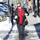 Melanie Griffith steps out on Christmas Eve in Aspen, Colorado on December 24, 2014