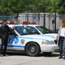 Jennifer Lopez on the set of 'Shades of Blue' in NYC - 454 x 296