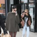 Kendall Jenner and Hailey Baldwin – Out and about in New York