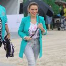 Alyssa Milano – 2020 Fanatics pre-Super Bowl party in Miami - 454 x 681