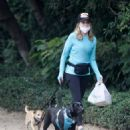 Courtney Thorne-Smith – Out for a dog walk in Brentwood - 454 x 573