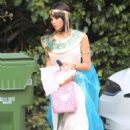 Jenna Dewan – Out for a Halloween party in LA
