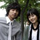 Yoo Gong and Yu-ri Sung