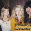 Rudy and Rebecca Sarzo with Bruce Kulick and Christina Walker at the NAMM Jam 1991.