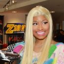 Nicki Minaj Visits Elvis Duran & The Morning Show