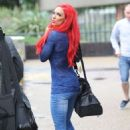 Jodie Marsh At Itv Studios In London