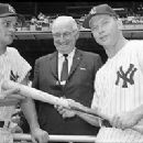 Roger Maris, Former President Harry Truman & Mickey Mantle - 275 x 200