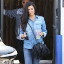 Kourtney Kardashian Out and About In La