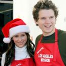 Jennifer Love Hewitt at an event at the Los Angeles Mission Friday December 24, 2010