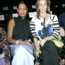 Rachel Griffiths and Garcelle Beauvais-Nilon - Kevin Hall Show at Mercedes Benz Fashion Week Los Angeles Spring 2008