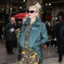 Gwen Stefani: at Gare du Nord railway station in Paris