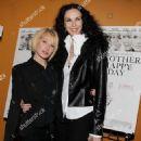 Ellen Barkin and L'Wren Scott attend a screening of