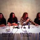 Dave Mustaine, Shawn Drover, Chris Broderick & Dave Ellefson - 454 x 341