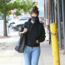 Katie Holmes – Seen at Brooklyn office