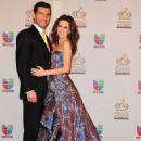 Martín Fuentes and Jacqueline Bracamontes- Premios lo Nuestro 2012