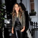 Elizabeth Hurley – Arrives at Annabel's in Mayfair - 454 x 788