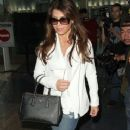 Paula Abdul arriving on a flight at LAX airport in Los Angeles, California on January 12, 2015 - 369 x 594