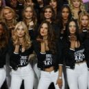 Victoria's Secret Models Photocall at The Grand Palais in Paris 11/28/ 2016