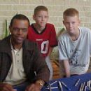 Gale Sayers signing auto-graphs