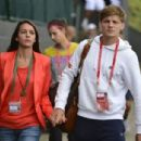 David Goffin and Stéphanie Tuccitto