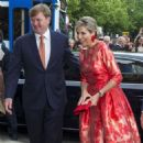King Willem-Alexander and Queen Maxima of The Netherlands Open Holland Festival - 454 x 475
