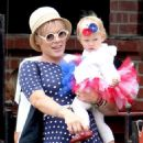 Pink and Carey Hart celebrating Independence Day with their daughter Willow (July 4)