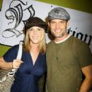 Casper Van Dien arrives at the Friends in High Places Presents The Sanctuary Lounge with his actress-wife Catherine Oxenberg