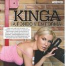 Kinga For Hombre Magazine Mexico - 454 x 594