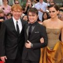 Daniel Radcliffe, Emma Watson, Rupert Grint Say Goodbye At The 'Harry Potter And The Deathly Hallows: Part 2' US Premiere