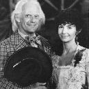Mary Steenburgen and Christopher Lloyd in Back to the Future Part III (1990)