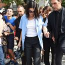 Kendall Jenner – Arrives at the Alberta Ferretti Fashion Show in Milan