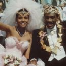 Shari Headley and Eddie Murphy