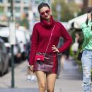 Victoria Justice – Sightings in New York City 09/12/2017
