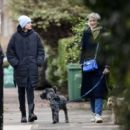 Emma Corrin – Enjoy a stroll in Belsize Park in North London - 454 x 402