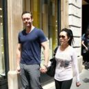 Kevin Durand and Sandra Cho