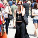 Ashlee Simpson-Wentz - Hollywood Candids, 06.07.2008.