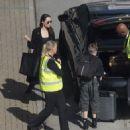 Angelina Jolie at London's Heathrow airport (May 17, 2018) - 454 x 498