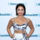 Demi Lovato Siriusxm Studios In Nyc