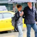 Halle Berry at JFK Airport in New York City