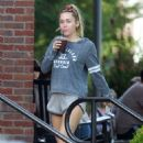 Miley Cyrus in Shorts – Out in Nashville