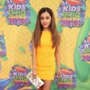 Ariana Grande attends Nickelodeon's 27th Annual Kids' Choice Awards held at USC Galen Center on March 29, 2014 in Los Angeles, California